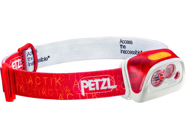 Petzl Actik Core Linterna frontal, red